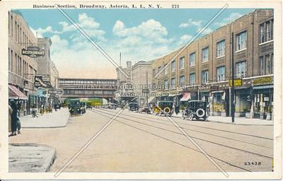 Business Section, Broadway, Astoria, L.I., N.Y.