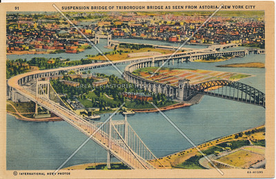 Triboro and Hell Gate Bridges