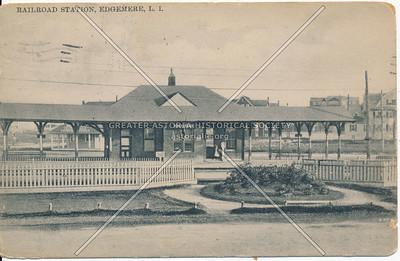 Railroad Station, Edgemere, L.I.