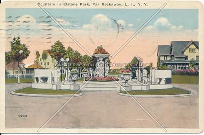 Fountain in Elstone Park, Far Rockaway, L.I., N.Y.