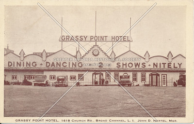 Grassy Point Hotel, 1618 Church Rd., Broad Channel, L.I.