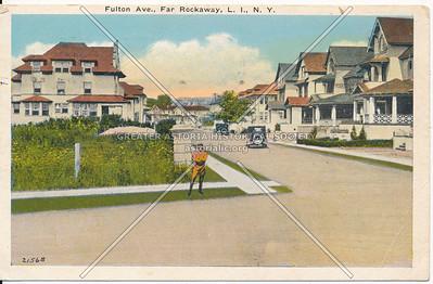 Fulton Ave (Lewmay Road)., Far Rockaway, L.I., N.Y.