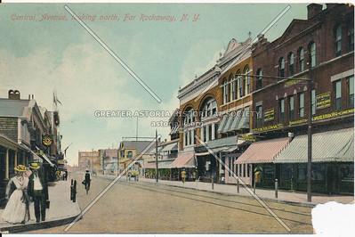Central Avenue, looking North, Far Rockaway, N.Y.