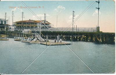 Station at Broad Channel, Rockaway, L.I.