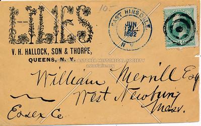 V. H. Hallock, Son & Thorpe, Queens, N.Y.