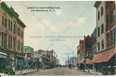 Central Avenue looking East, Far Rockaway, N.Y.