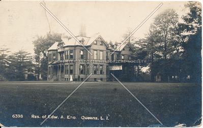 Res. of Edw. A. Eno. Queens L.I.