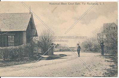 Historical Wave Crest Gate, Far Rockaway, L.I.