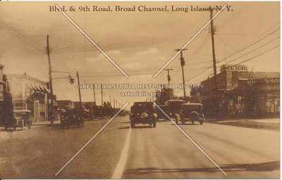 Cross Bay Blvd. & 9th Road, Broad Channel, Long Island, N.Y.
