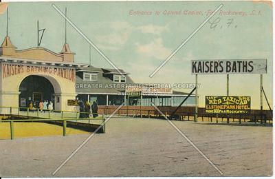 Entrance to Ostend Casino, Far Rockaway, L.I., N.Y.