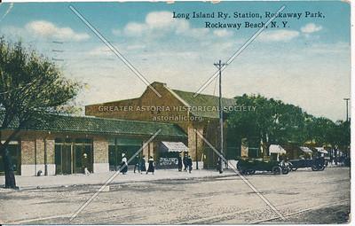 Long Island Ry. Station, Rockaway Park, Rockaway Beach, N.Y.