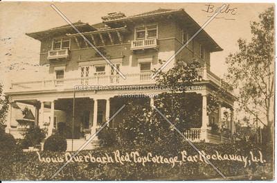 Louis Querbach Red Top Cottage, Far Rockaway, L.I.