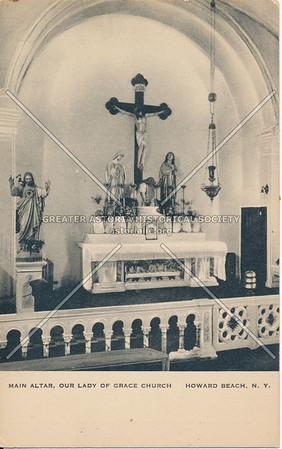 Main Altar, Our Lady of Grace Church - Howard Beach, N.Y.