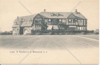 A Residence in Wavecrest, L.I.