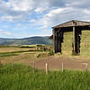 18 July 2017  Hay shed, Routt County, Colorado