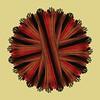 Black Red Textured Wheel