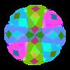 Pastel Sphere Transparency