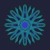253. Atomic Strands Aquamarine