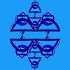 119. Blue Celtic Pendant