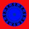 725. Blue Fluorescent Wheel