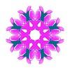 Pearl Lace Brocade Purple