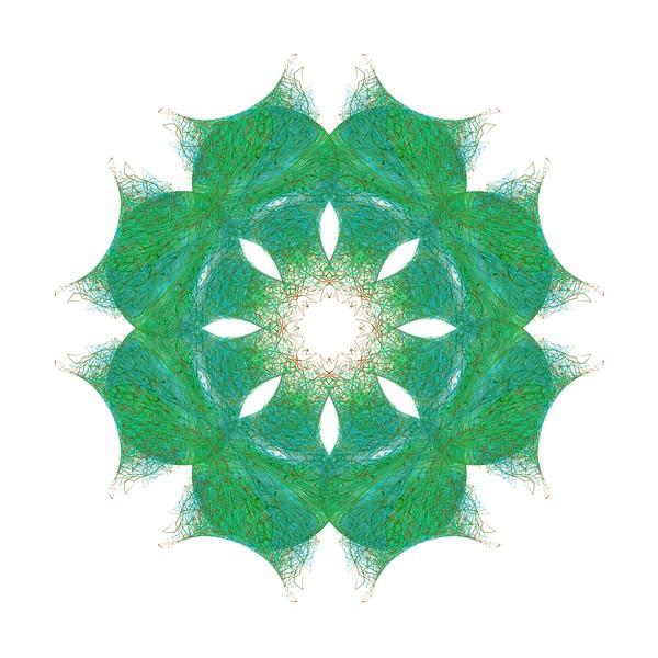 348. Green Cats Eyes