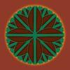 724. Split Petal Flower Brown