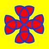 15. Celtic multicolour  Cross