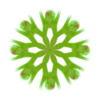 323. Gemstones Green Transparency