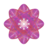 341. Red Atom Septuple Transparency