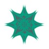 356. Green Rose Star