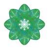 340. Green Atom Septuple