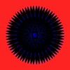 Black Blue Universe