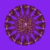 687. Ornamental Wheel With Pearl Centre