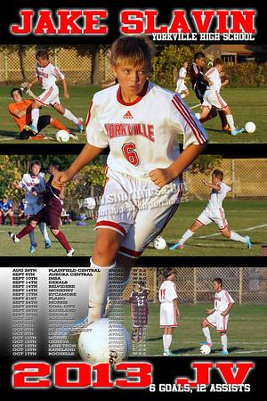 2013 Jake Slavin Soccer Poster