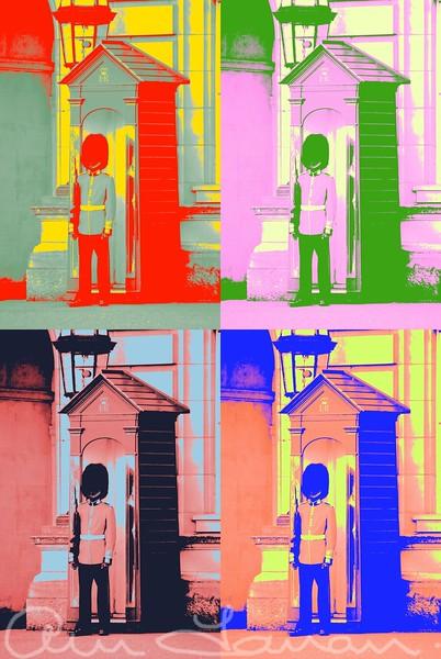 Bucking Palace the Guard