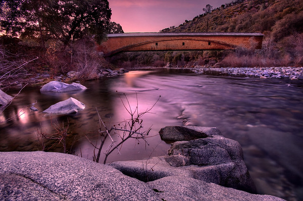 Covered Bridge, Bridgeport, California