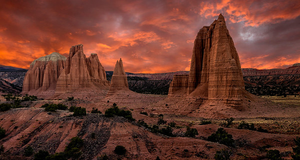 Cathedral Valley, Capitol Reef National Park, Utah
