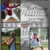 Softball 11x14 Sarah