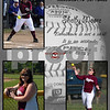 Softball 11x14 Shelby