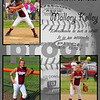Softball 11x14 Template Kelley
