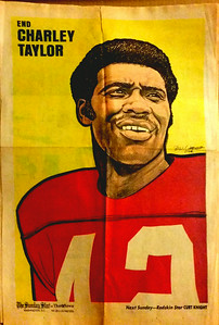 1972 Newspaper Redskins Charley Taylor