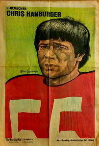 1972 Newspaper Redskins Chris Hanburger