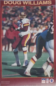 1988 Starline Doug Williams Poster