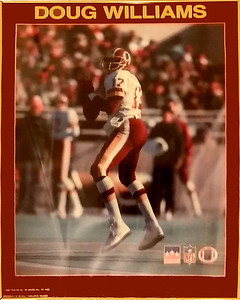 Doug Williams 1988 Framed Starline Poster