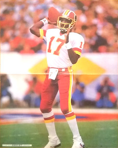 1988 Ashley Poster Series Doug Williams