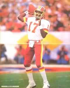 1988 Ashley Poster Series Doug Williams