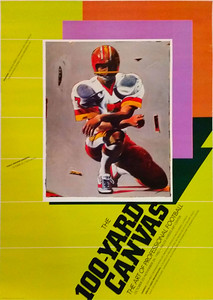1980 Palos Verdes Art Center Joe Theismann Poster