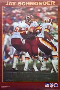 1987 Starline Jay Schroeder Poster