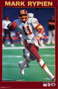 1990 Starline Mark Rypien Poster